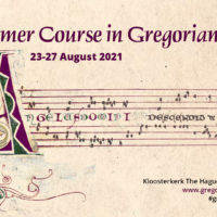 Summer course in Gregorian Chant