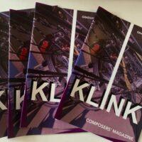 KLINK - A new composers magazine