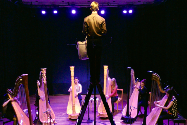 The Harp Sirens in concert 2019