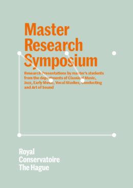 Programma Master Research Symposium