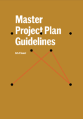 Master Project Plan Guidelines Ao S