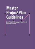 Master Project Plan Guidelines