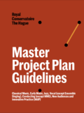 Master Project Plan