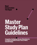 Master Study Plan