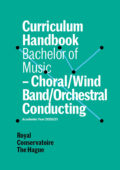 cover curriculum handbook - bachelor Conducting