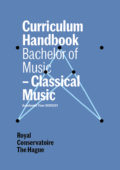 cover curriculum handbook - bachelor Classical Music