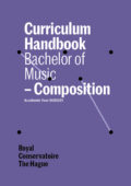 cover curriculum handbook - bachelor compositie