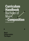 Cover Curriculim Handbook bachelor Composition
