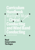 Cover Curriculim Handbook master Choral and Wind Band Conducting