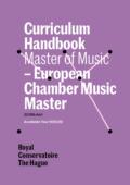 Cover Curriculim Handbook master European Chamber Music Master