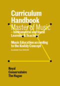Cover Curriculim Handbook master Instrumental and Vocal Learning and Teaching and Kodaly