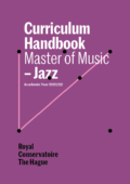 Cover Curriculim Handbook master Jazz