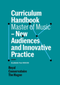 Cover Curriculim Handbook master New Audiences and Innovative Practice