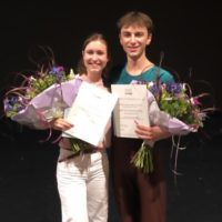 Kylián Foundation Winners 2019 Fabienne and Matteo