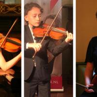 Prijswinnaars Jong KC tijdens Britten Concours en De Muziekwedstrijd