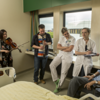 Grant for professionalisation meaningful music in healthcare