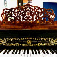 We welcome our new Streicher 1876 Fortepiano