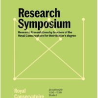 Master Research Symposium (Teachers)