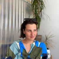 """Lilita Dunska - """"I got to play wonderful analogue synthesizers, took classes at the Art Academy and learned how to solder."""""""