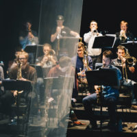 Big Band speelt eigen arrangementen
