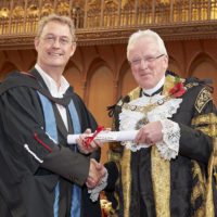 Henk van der Meulen receives British Award