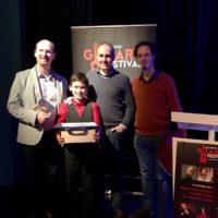 Matthijs van Delft wins Junior Guitar Competition Antwerpen