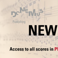 Donemus offers sheet music online