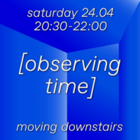 Moving Downstairs with a live-coding set by Giulia Francavilla (Rae)