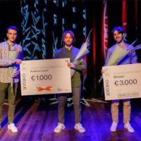XTRO Percussion trio wins Grote Kamermuziekprijs 2021