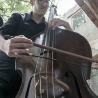 Yussif Barakat awarded violone player at The London Festival of Baroque Music Academy 2020