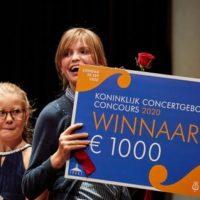 Jala Heywood winnaar van het Koninklijk Concertgebouw Concours