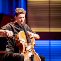 Reinier Wink wint aanmoedigingsprijs Cello Biënnale